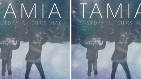 New Song:  Tamia - 'Someday at Christmas'