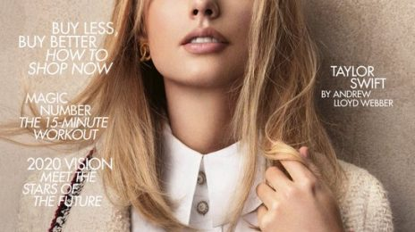 Taylor Swift Blazes British Vogue