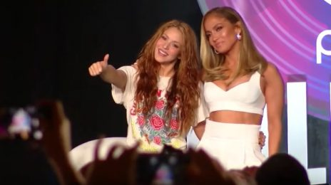 Jennifer Lopez & Shakira Dish On Super Bowl Halftime Show At Joint NFL Conference