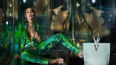 Jennifer Lopez Unveiled As The New Face Versace