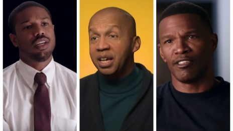 'Just Mercy' Exclusive: Michael B. Jordan, Bryan Stevenson, & Jamie Foxx On Importance Of Hit Movie