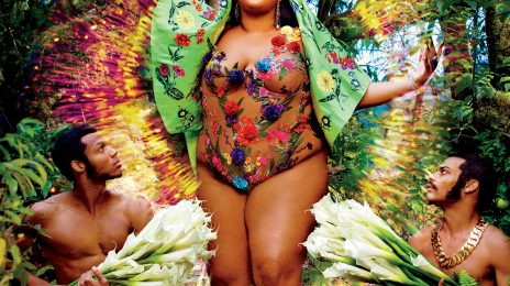 Lizzo Lights Up Rolling Stone / Claps Back At Negativity