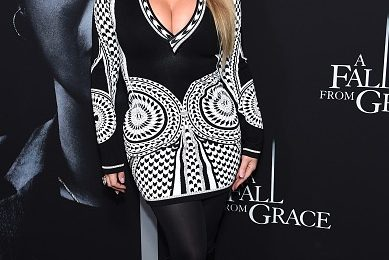 Mariah Carey Stuns At Netflix Premiere Of Tyler Perry's 'A Fall From Grace'