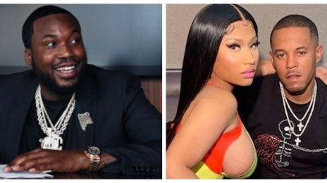 Meek Mill & Nicki Minaj's New Husband Get Into Heated Altercation [Video]
