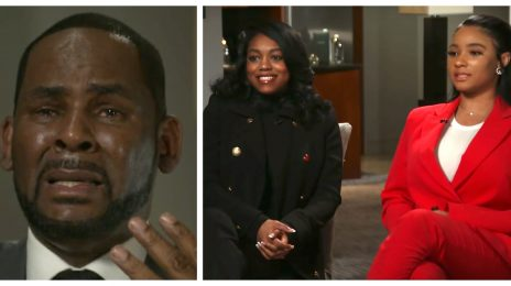 Drama! R. Kelly Girlfriends Fight Caught On Camera / Cops Called [Video]