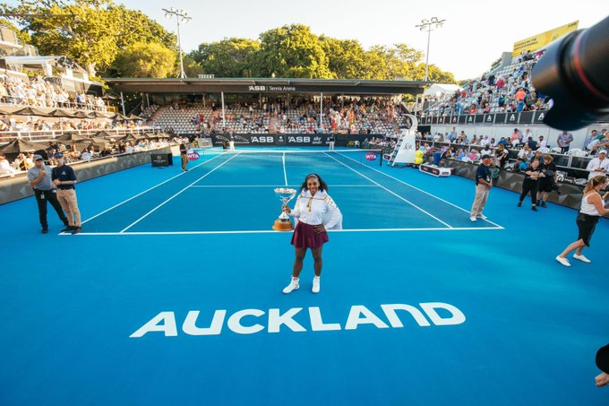 serena williams wins auckland open - her first title since 2017