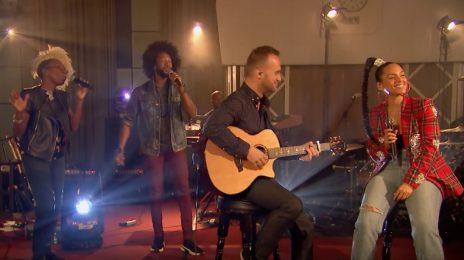 Alicia Keys Belts 'Underdog' On BBC Radio 1 Live Lounge [Performance]