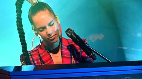 Alicia Keys Performs 'Try Sleeping With A Broken Heart' & Billie Eilish Cover On BBC Radio 1 Live Lounge