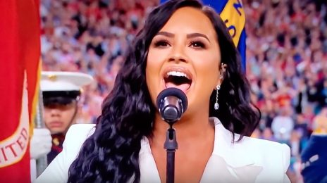 Demi Lovato Performs US National Anthem At Super Bowl 2020 [Video]