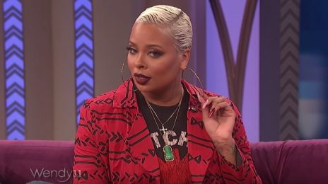"Eva Marcille Visits 'Wendy' / Talks RHOA, ""Crazy"" Ex Boyfriend Drama, & More"