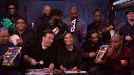 Janet Jackson Performs 'Runaway' With The Roots On 'Fallon' [Video]