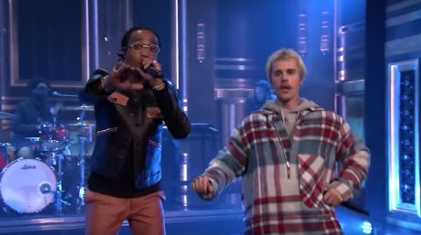 Justin Bieber & Quavo Perform 'Intentions' On 'The Tonight Show'
