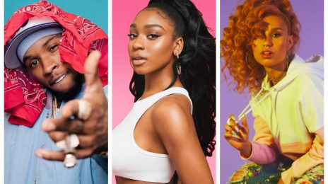 Normani Hits The Studio With Tory Lanez & Raye [Video]