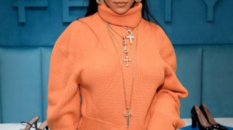 Rihanna Stuns At Fenty Bergdorf Goodman Launch