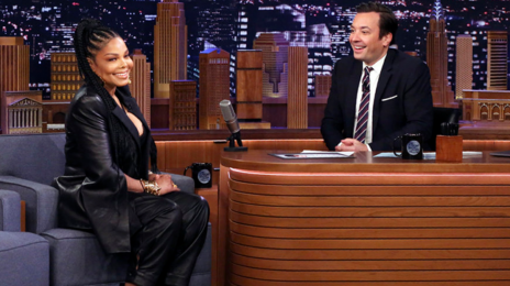 Janet Jackson Dishes on 'Black Diamond' Album & Tour, Motherhood, & More on 'Tonight Show' [Watch]