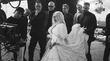 Christina Aguilera Teases 'Fall On Me' Music Video