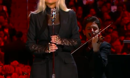 Christina Aguilera Soars With Emotional 'Ave Maria' Performance At Kobe Bryant Memorial [Video]