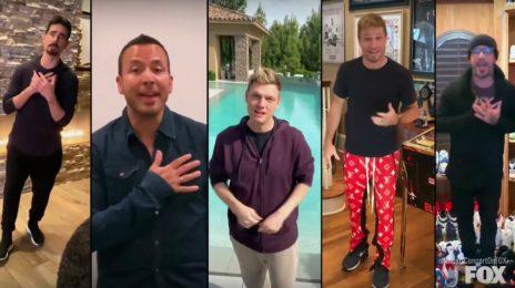 Backstreet Boys Blaze With Quarantined Version Of 'I Want It That Way'