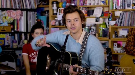 Watch:  Harry Styles Rocks NPR's 'Tiny Desk Concert' Series