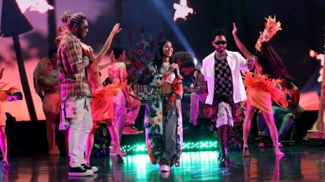 Did You Miss It? Jhené Aiko, Miguel, & Future Rock 'Ellen' With New Song 'H.O.E.' [Video]