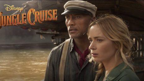 Dwayne Johnson's 'Jungle Cruise' Dominates Box Office During Opening Weekend