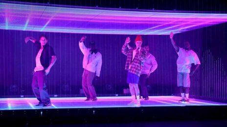 Watch:  Justin Bieber & Quavo Perform 'Intentions' on 'Ellen'