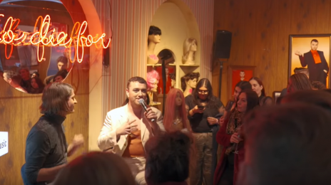 Watch:  Sam Smith Takes Fan Q&A Live from a Wig Shop / Performs New Single 'To Die For'