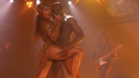 Victoria Monét Heats Up Kimmel With Mesmerizing 'Moment' Performance