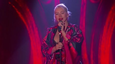 Christina Aguilera Amazes With 'Loyal Brave True' On 'Kimmel' [Performance]