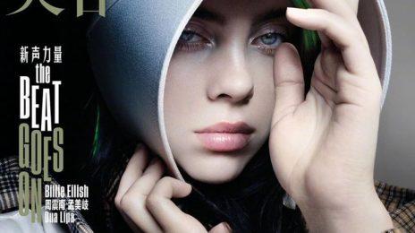 Billie Eilish Blazes Vogue China