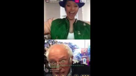 Cardi B Talks Coronavirus & More With Bernie Sanders On Instagram Live