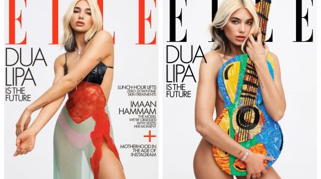 Dua Lipa Dazzles For ELLE / Talks Album Leak & More