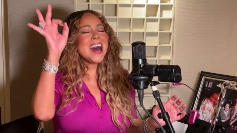 Mariah Carey Honors Coronavirus Relief Workers With 'Hero' Performance Live From Home