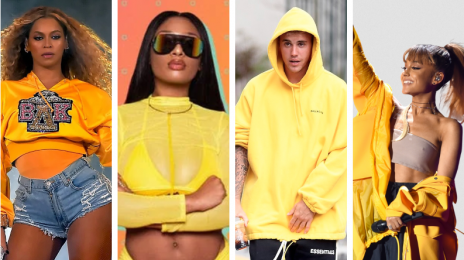 Report:  Stallion & Beyoncé May Top Next Week's Hot 100 As Grande & Bieber Set for Massive Drop