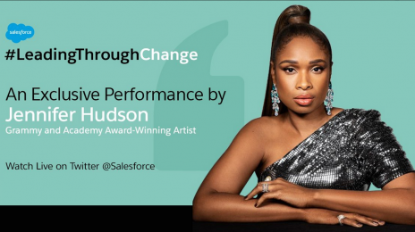 Watch:  Jennifer Hudson Performs 'Lean On Me' & More For #LeadingThroughChange