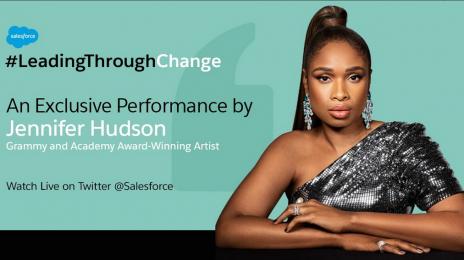 Watch:  Jennifer Hudson Performs 'Lean On Me' & More For #LeadingThroughChange