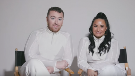 Behind the Scenes:  Sam Smith & Demi Lovato's 'I'm Ready' Music Video [Watch]
