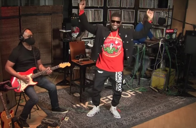 Usher Rocks Verizon Pay It Forward / Debuts New Song 'Believe' [Full Performance]