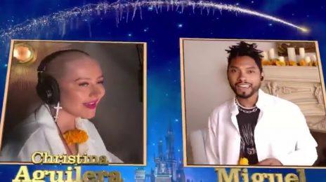 Christina Aguilera, Miguel, Jennifer Hudson, John Legend, Katy Perry, & More Perform On 'Disney Family Singalong: Volume II'