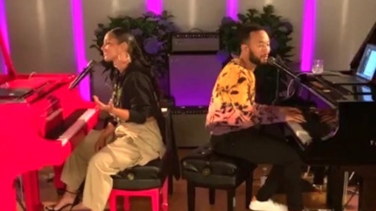 Alicia Keys Verzuz John Legend Went Down And New Music Dropped [VIDEO]