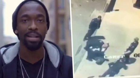 Jay Pharoah Shares Shocking Footage Of Police Officer Kneeling On His Neck