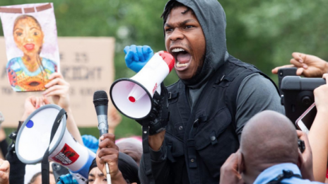 Watch:  John Boyega Condemns Racism in Powerful Protest Speech