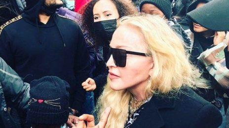 Madonna Marches In #BlackLivesMatter London Protest