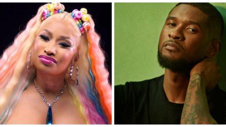 "Shots Fired? Nicki Minaj Sparks Usher Feud Rumors With ""Clinic"" Lyric On 'TROLLZ'"