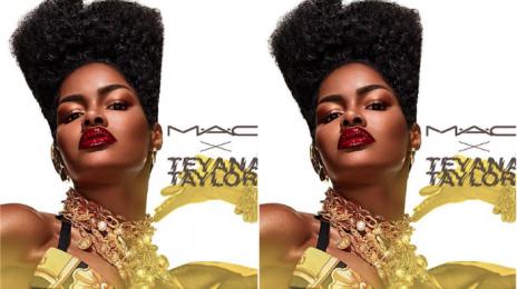 Teyana Taylor Announces Partnership with MAC Cosmetics