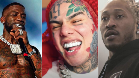 6ix9ine Slams Gucci Mane, Future, & Meek Mill After 'TROLLZ' Victory:  None of You Have #1 Hits!