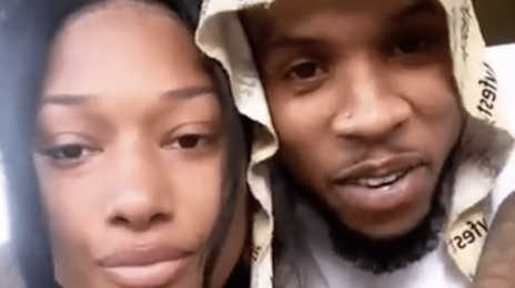 "Tory Lanez Arrested on Gun Charge, Megan Thee Stallion Listed as ""Victim"" in Car With Him"