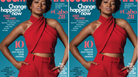 Hot Shots:  KeKe Palmer Poses It Up For 'Cosmopolitan' [Photos]