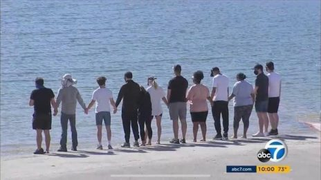 'Glee' Cast Reunite At Lake Piru To Honor Naya Rivera
