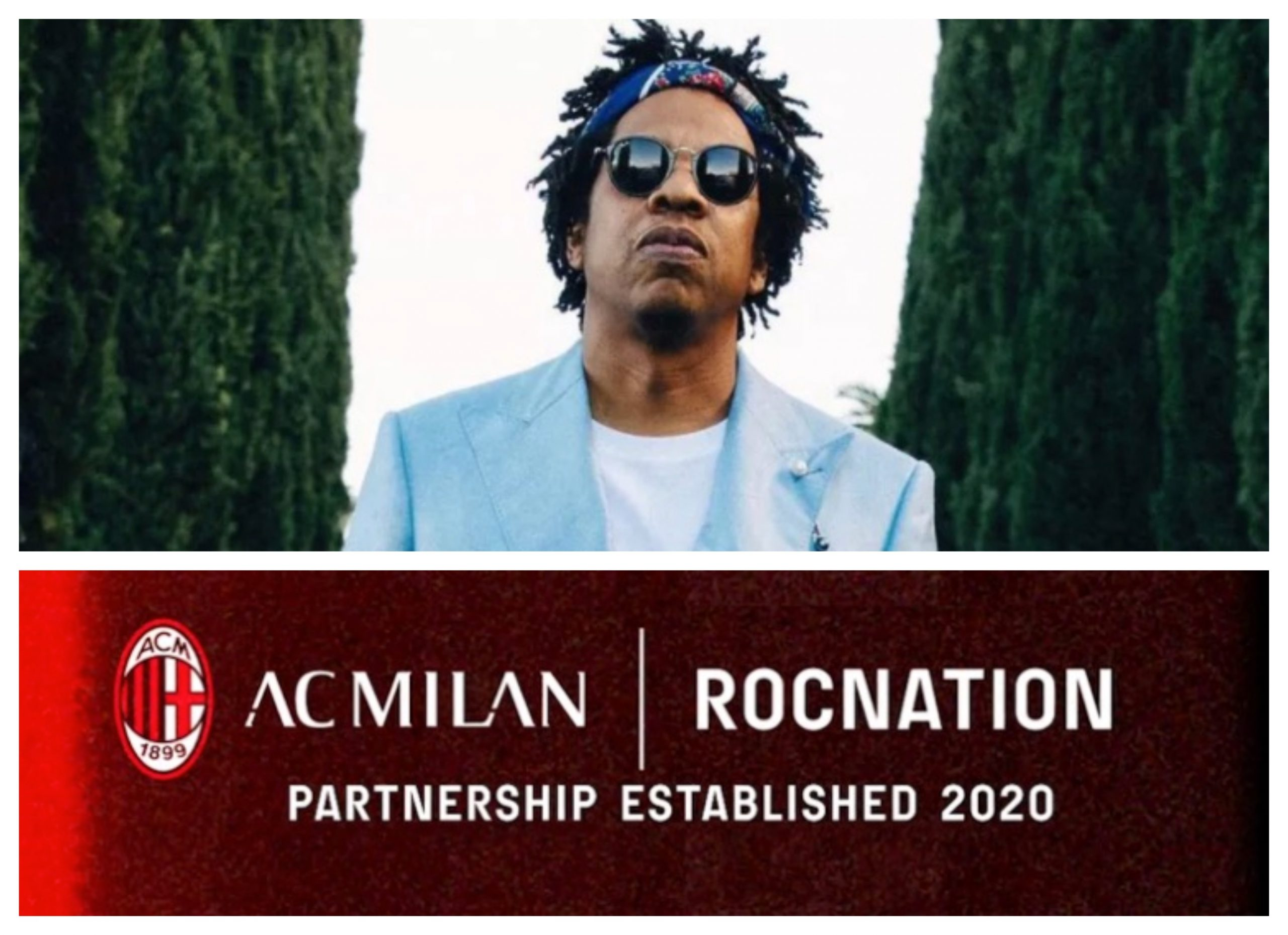 Jay-Z's Roc Nation Inks Industry-First Deal With AC Milan Soccer Team -  That Grape Juice